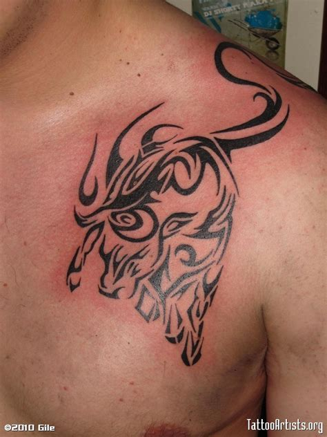 tribal ox tattoo tattoos on 30 stunning tribal bull designs