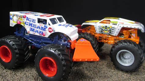 toy monster jam trucks for 2015 c monster jam batch with ice cream man new for 2015