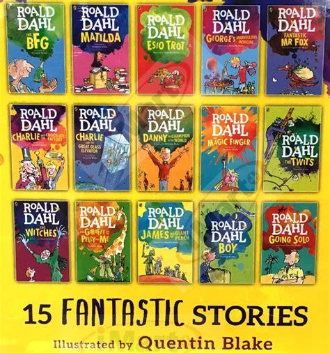 Roald Dahl Collection 2016 stock roald dahl collection 15 books box set phizz