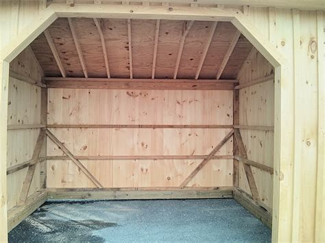 Interior Shed Walls by Interior Walls Pole Shed 2x4 Studio Design Gallery