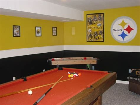 steelers room steelers rooms ideas