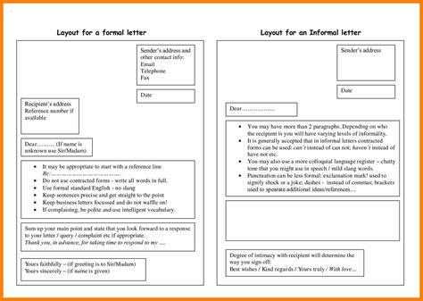 Official Letter Uk Exle formal letter layout exle resume format