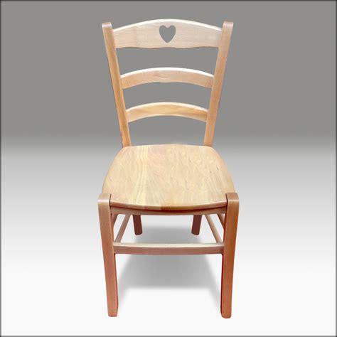 sedia country sedie country 2 sedie in legno naturale stile shabby