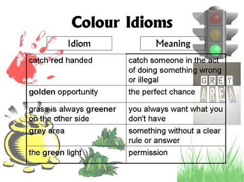 this pattern of color expression is most likely to be an exle of 7 popular color idioms and their meanings eage tutor