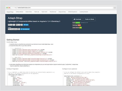 mobile web ui framework 25 awesome angularjs web ui framework components web
