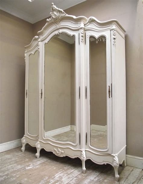 triple armoire if2456 antique triple door armoire