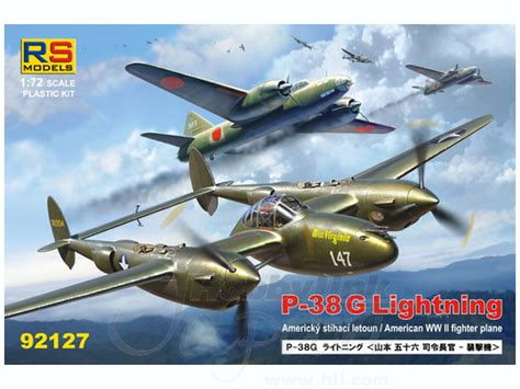1 72 p 38g lightning the plane that isoroku