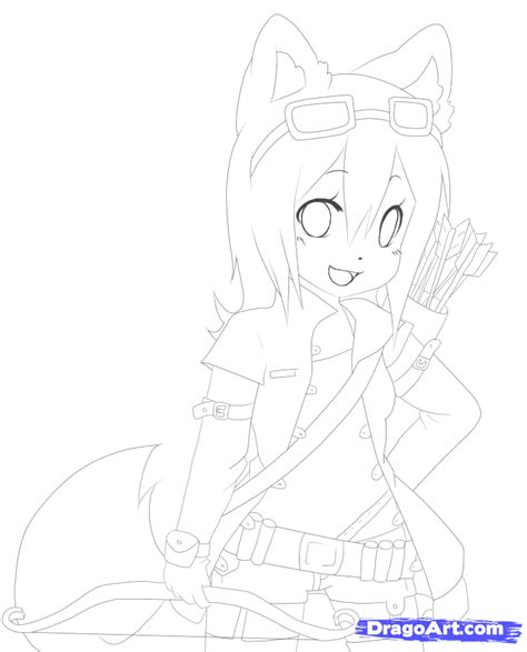 anime wolf girl coloring pages 13 images of wolf people coloring pages wolf couples