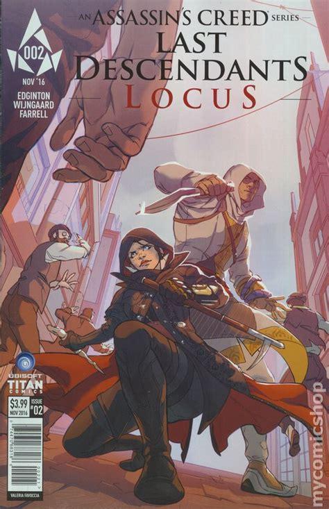 assassins creed locus assassin s creed locus 2016 titan comic books