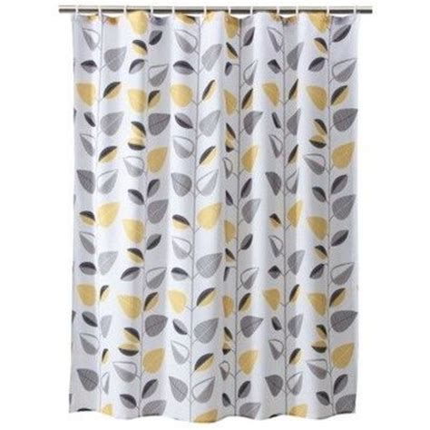 yellow and gray curtains target good to go with grey yellow white color scheme bath
