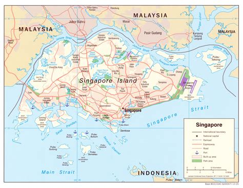 free map of free singapore maps