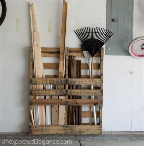 Garage Storage With Pallets Pallet Garage Storage Pictures Photos And Images For