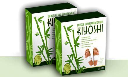 Kiyoshi Foot Detox Patches kiyoshi foot detox patches groupon goods