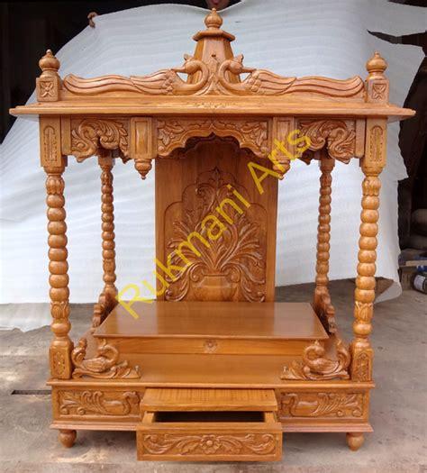 code 78 wooden carved teakwood temple mandir wooden