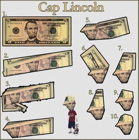 Origami Out Of Dollar Bills - news make abe lincoln look like a b boy 5 dollar bill