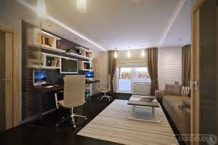 home office design decor modern design in modest proportions