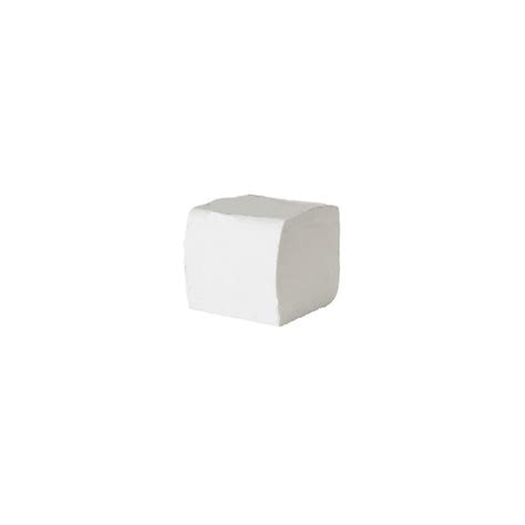 Folded Toilet Paper - basic 2 ply folded toilet paper white noble express