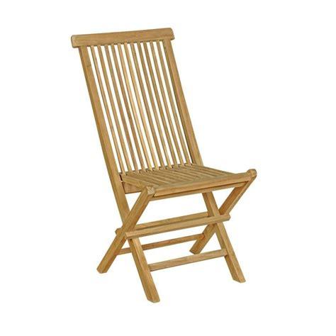 chaises teck chaise en teck naturel brut de grade jardin interieur