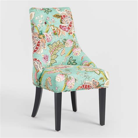floral dining room chairs monrovia floral lydia dining chairs set of 2 world market