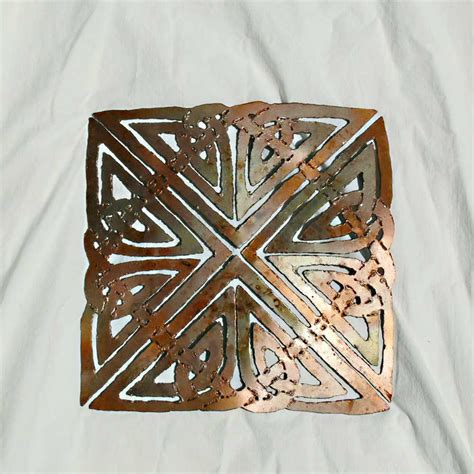 Celtic Wall Decor by Square Celtic Knot Wall