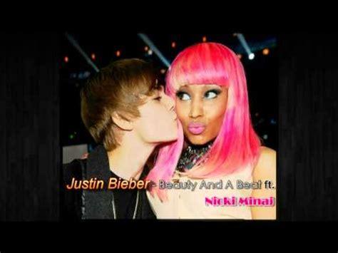 justin bieber ft nicki minaj beauty and the beast free mp3 download justin bieber beauty and a beat ft nicki minaj audio