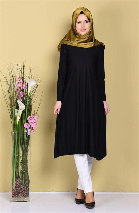 03 Tunik Delia Black asimetrik tunik 1209 03 siyah