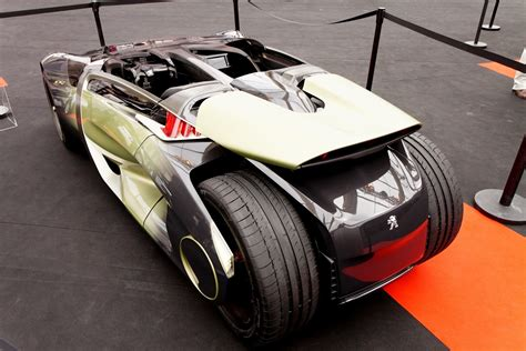 peugeot supercar 2011 peugeot ex1 is part ev quad bike and part track day