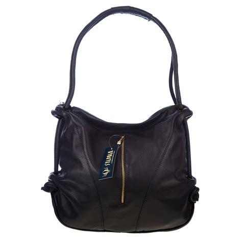 Top 7 Designer Accessories by Stephen Italian Made Black Leather Top Handle Designer Handbag