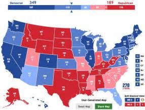 electoral map benchmark politics electoral college map the big picture