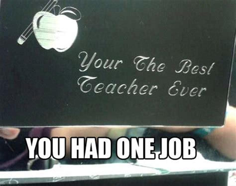 You Had One Job Meme - you had one job meme hilarious fail blunders make