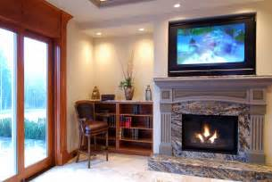 tv in front of fireplace mounting your tv don t mount it too high hometechtell