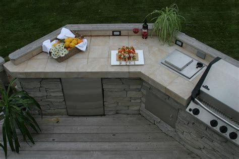 outdoor kitchen countertop ideas best outdoor countertop ideas homesfeed