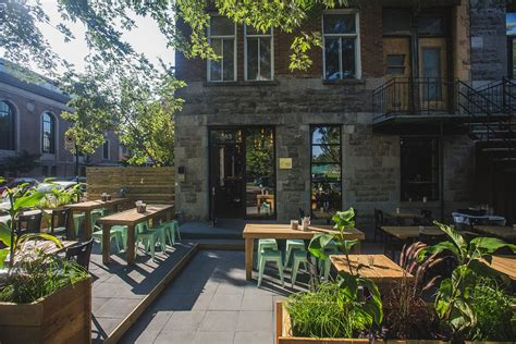 hängematte terrasse 10 of the best terrasses in montreal will travel for food