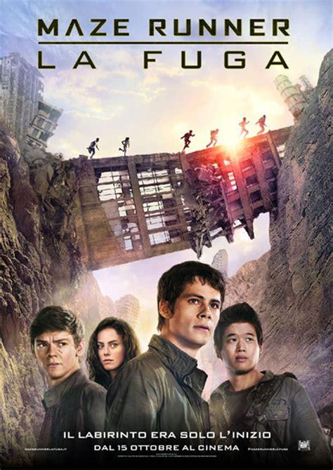film maze runner la mutazione maze runner la fuga posters filmup com