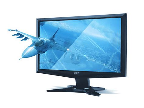 Monitor Acer 24 Inch Gn245hq acer 23 6 034 gn245hq 3d gaming monitor 1080p w glasse 24 034 ebay