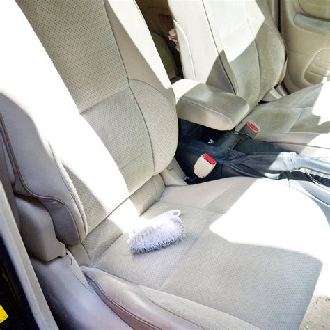 Clean Upholstery In Car by How To Clean Car Seats Popsugar Australia Smart Living