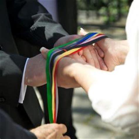 wedding ceremony meaning handfasting ribbons wedding ceremony destination