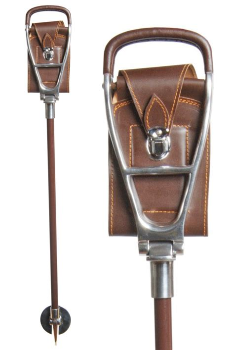 walking with seat follower walking stick with seat brown leather stick