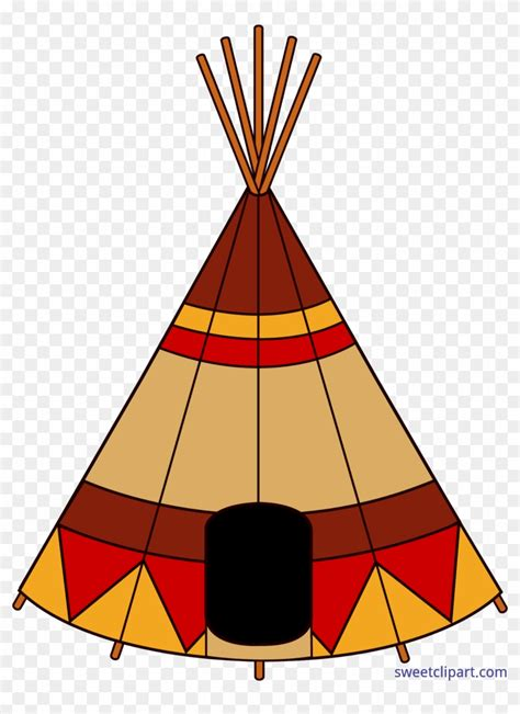 Clipart For Free Teepee Clip Teepee Clipart Free Transparent Png