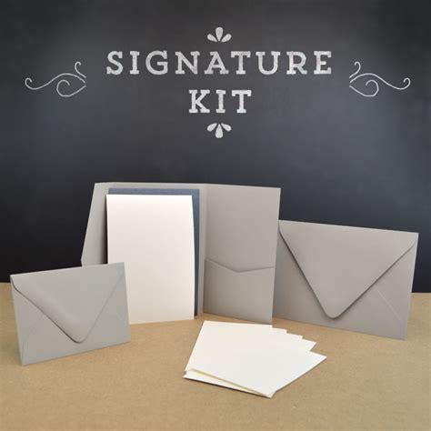 Wedding Invitation Kits   DIY   Cards & Pockets