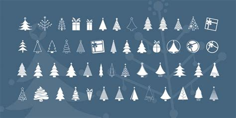10 wonderful christmas symbol fonts