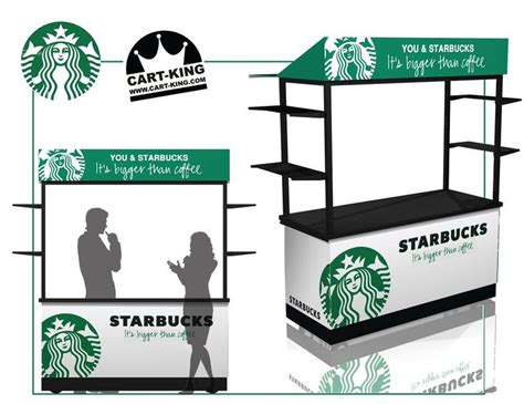 coffee booth design starbucks coffee kiosk a simple but powerful design to