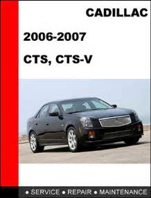 download 2007 cadillac cts v owners manual auto repair