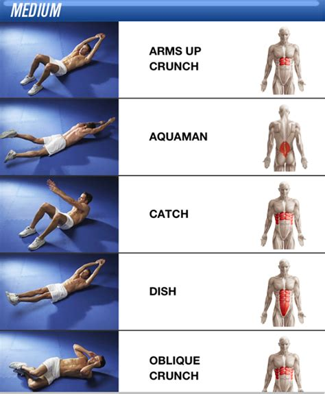 6 for a rock solid stomach exercises sees