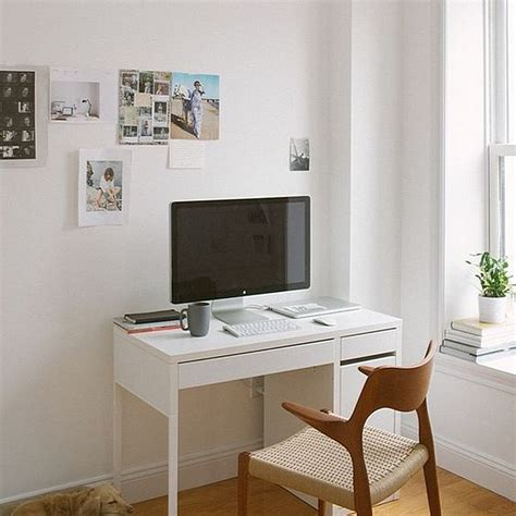 ikea micke computer desk with integrated storage