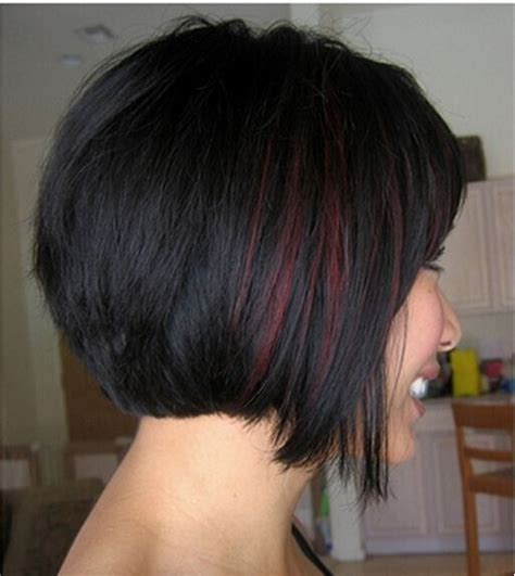 bob haircuts with red highlights 22 latest highlighted ideas for black hair pretty designs