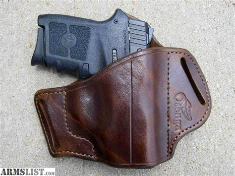 Handmade Leather Holsters - armslist for sale custom leather holster s w bodyguard 380