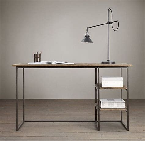vintage industrial home or office desk home sweet home