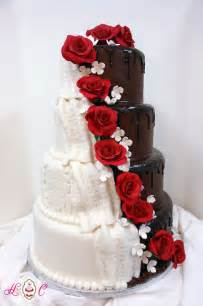 11 his and her wedding cakes when you just can t decide diply
