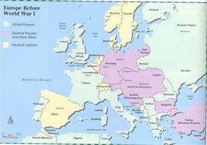Map Of Europe Ww1 by Alliance Judy Ivie Burton Technology Academy High